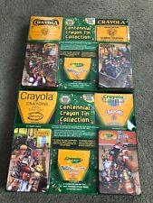 Crayola Crayons Centennial Tin Collection BNIB 2003 Sets Complete Great Pieces