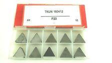 ONE NEW CERATIZIT TNUN333 TNUN 160412 P20  CARBIDE INSERT