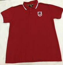 Mens ST.GEORGE NRL Licensed Polo Top. Size Medium. As New