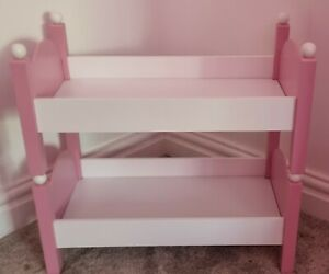 Wooden dolls bunk beds chad valley