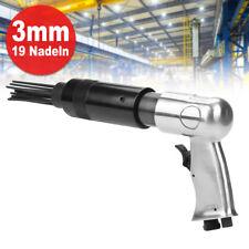 3mm Nadelentroster Druckluft Nadelpistole Rost Entferner 19 Nadeln Entroster NEU
