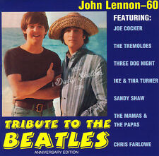VARIOUS ARTISTS TRIBUTE TO THE BEATLES JOHN LENNON - 60 CD in Jewel Case Booklet