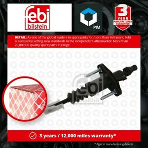 Clutch Master Cylinder fits OPEL VECTRA C 3.0D 03 to 08 024412670 24412670 Febi