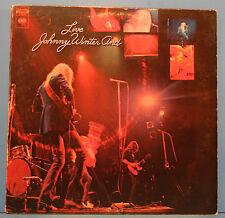 LIVE JOHNNY WINTER AND LP 1971 ORIG PRESS RICK DERRINGER GREAT COND! VG++/VG!!B