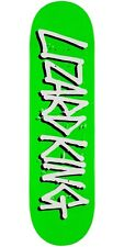 DEATHWISH LIZARD KING GLITTER SKATEBOARD DECK 8.38 INCH *FREE GRIP*FREE SHIPPING