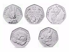 2016 Beatrix Potter, Duck, Rabbit,Tiggy, Squirel, From sealed bag, Full Set. T19
