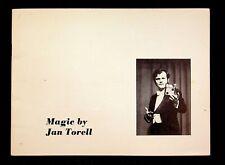 Magic By Jan Torell - Magic Magician Book 1975 Tricks