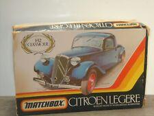 Citroen Cabriolet - Matchbox I-32 Unbuild in Box *41217