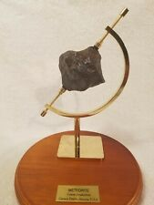New Listing375 grams Museum Quality Canyon Diablo Meteorite, *With Caliper Stand
