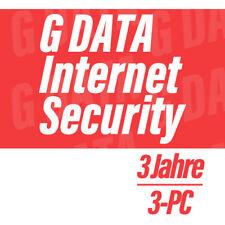 G Data Internet Security 2018 GDATA VOLLVERSION DEUTSCH  - 3 PC für 3 Jahre