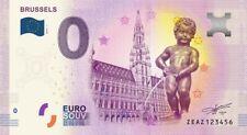 Billet Touristique 0 Euro - Brussels (Manneken-Pis) - 2019-1