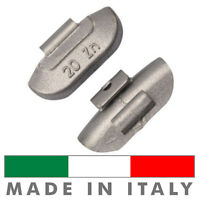 50 X Pesi Equilibratura cerchi in ferro da 20g - Contrappesi zinco MADE IN ITALY