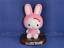Hello Kitty Rabbit Shake Head Figure Desk Decoration Ornament Car Vehicle Charm