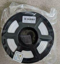 Filamento de impresora 3D, PLA Filamento 1.75mm de seda blanca + +/- 0.02 mm, 2.2LBS (1KG),
