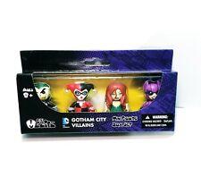Mezco Mini Mez-itz Gotham City Villains Joker Harley Quinn Poison Ivy Catwoman