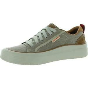 Skechers Mens Viewport-Genivo Canvas Trainers Fashion Sneakers Shoes BHFO 6832