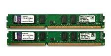 8GB (2x4GB) Kingston PC3-10666 DIMM 1333MHz DDR3 KTD-XPS730B/4G Low Profile RAM