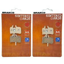 BRAKCO Sintered Disc Brake Pads HAYES HFX 9, HFX-MAG, PROMAX