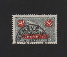SUISSE N°  8 A OBLITERE. 1923 .45c ROUGE ET B. NOIR..COTE 20 €. PRIX: 3,45 €