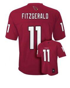 NWT$55 Boy's Youth NFL Arizona Cardnals #11 Larry Fitzgerald Jersey Size XL18-20