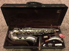 Vintage KING Voll-True II ALTO SAXOPHONE H.N White Original Case 1934 - 1935