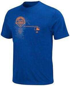 MLB Youth New York Mets Deep Royal Short Sleeve Basic Tee By Majestic XL