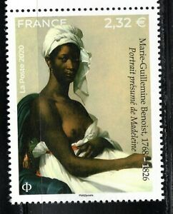 2020 France Nude Painting MNH