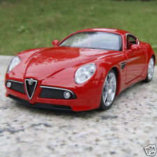 Alfa Romeo 8C 1:32 New Alloy Diecast Car Model Collection & Gift Red