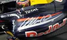 Minichamps 1/18 Scale diecast  110 100006 Red Bull Racing RB5 10 Webber Signed!