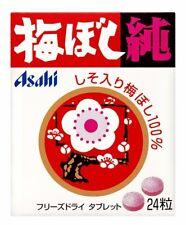 10 pcs Asahi umeboshi JUN freeze-dried tablet umeboshi 100% Plum Candy 24 grains