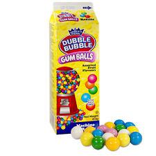 (€ 1kg/8,70) Dubble Bubble Gumballs chewing GUM PALLINE GOMMA da masticare una gomma da masticare 15mm