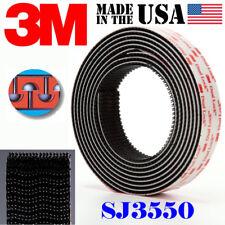"""3M SJ3550 Width 1"""" x 60""""inch Dual Lock Tape Black VHB Adhesive Fastener Roll"""