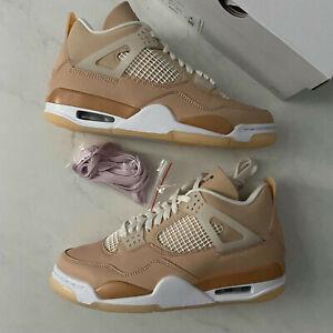 WMNS Nike Air Jordan 4 Retro Shimmer Size 9W / 7.5M - DJ0675-200 Brand New