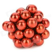 5mm 40PCS Magnetic Balls DIY Puzzle Toy - Red
