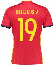 Spain Home Football Shirts (National Teams)