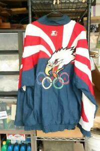 Team USA Starter 1996 Atlanta Olympics Jacket Size XL