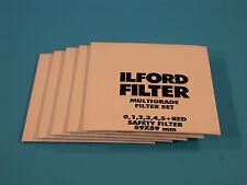 ILFORD Multigrade X5 - 89X89mm Filter Set - NEW - SEALED