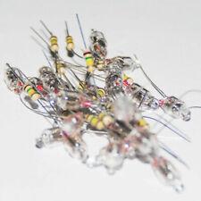 20Pcs 5x12mm Red Light Neon Bulb Indicator Lamp 220V With Resistor Neon-Light