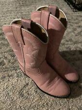 Little Girls Sz 12 Durango Pink Boots