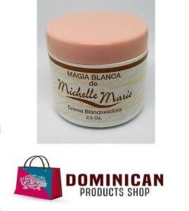 Michelle Marie Skin whitening cream Magia blanca 2.5 ozs Dominican blanqueadora