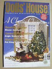 THE DOLLS' HOUSE MAGAZINE 2002 Dec No 55 Beatrix Potter, Moulin Rouge, Christmas