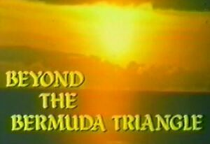 Beyond The Bermuda Triangle - 1975 US TVM Stars Fred MacMurray, Donna Mills