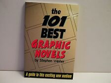 THE 101 BEST GRAPHIC NOVELS BOOK by Stephen Weiner SC ( FREE SHIP/GIFT )