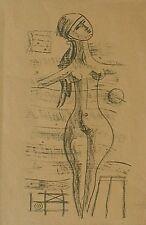 TOZZI Mario (Fossombrone 1895 - St. Jean du Gard 1979), Figure Poetiche 3