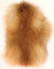 Pelliccia Guanti Volpe Rossa Benessere Massage Streichel Natura Marrone-Rosso