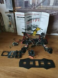 Quadcopter 250 Frame mit Motoren - Kamera - GPS - Akku - Eachine Tasche