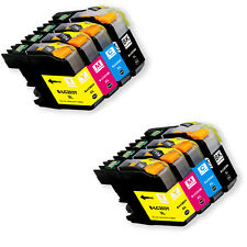 8 PK New Replacement Ink Set for  Brother LC201 MFC J460DW J480DW J485DW J680DW