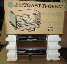 NOS New Open Box Vintage GE Deluxe King Size Toast-R-Oven Model T-94