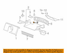 Interior Rear Cargo Net Cap Chevrolet Corvette 05 - 13 Pack of 6 22588415 BN23