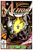 7 Action Comics Feat. Superman DC Comic Books # 652 653 654 658 686 687 2 A J271